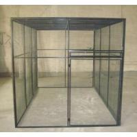 PVC spray Outdoor welded wire panel large steel foldable modular dog cage