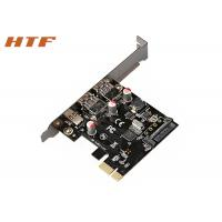 China SuperSpeed USB3.0 Type A port + Type C 6 Gbps PCI Express Interface Card Riser Card on sale