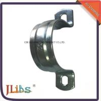 Wholesale Zinc Galvanized Quick Release Tube Clamp , Hydraulic Vertical Metal Pipe Brackets from china suppliers