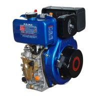 China Portable 408cc Air Cooled Diesel Engine With Pressure Splashed Lubricating System wholesale