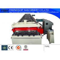 China 15KW 380V Metal Deck Roll Forming Machine With 2.0mm GI Steel 900mm width wholesale