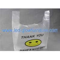 China Manufacture Vest Biodegradable Plastic Eco Friendly Plastic Shopping Vest Bags wholesale