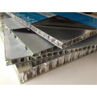 China Dark / Dark Green / Sliver Aluminum Honeycomb Panels For Frame Constructive Buliding wholesale