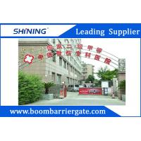 China 3.7m / 4.2mAutomatic Driveway Barrier Gates With LED Strip For Car Parking Lot wholesale