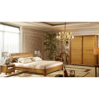 China Durable Customized brown Solid Wood Wardrobe Closet For Bedroom 1800×635×2200 mm wholesale