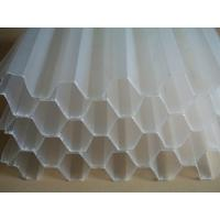 China 35mm 50mm Hole Diameter Tube Deck Media For Oil Separation And Sewage Purify wholesale