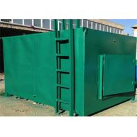 China wood sawdust Charcoal Carbonization Furnace with 11kw Power , 600 kg Capacity wholesale