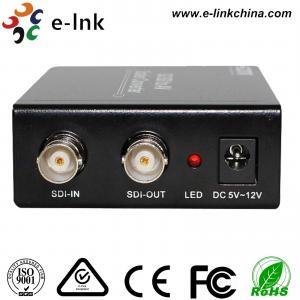 China SDI to AV Scaler CCTV Fiber Optic Converter 1 Port BNC SD / HD / 3G - SDI + 3 port CVBS 3G wholesale