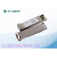 Buy cheap 10G XFP CWDM Fiber Optical Transceivers LC Dulplex DDM DOM For Networking Equipment from wholesalers