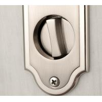 Quality Residential Mortise Metal Sliding Door Locks Satin Nickel Finishing for sale