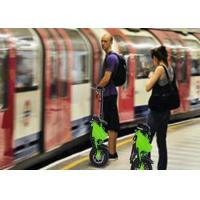 Blue / Green Color Smallest Folding Bike 12 Inch Wheels For City Road