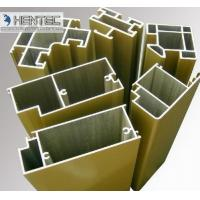 China T66 Sand Blasting Satin Aluminum Door Extrusions ROHS / SGS Approval wholesale