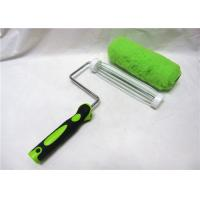 "China Green Polyester Smooth Roller Paint Brush , 7"" / 9"" Paint Corner Roller wholesale"