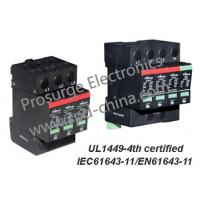China T2/Class C SPD/ lightning /Surge Arrester for AC power distribution system, UL1449-4th and IEC61643-11 certified wholesale