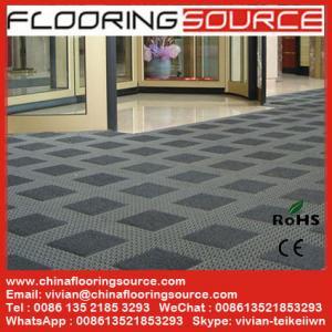 China Outdoor Building Entrance Flooring Interlocking Tile Carpet Scraper Matting Heavy Duty Entrance Matting wholesale