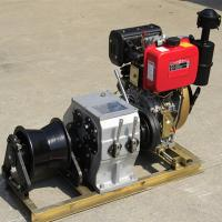 China Small / Big Model Marine Winch Durable With 600KN~4500KN Drum Brake Load wholesale