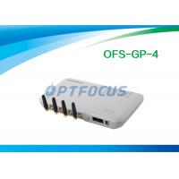 China White 4 Channel VOIP GSM Gateway wholesale