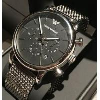 China Wholesale NEW EMPORIO ARMANI AR1811 MESH LUIGI STAINLESS STEEL MEN'S CHRONOGRAPH WATCH wholesale