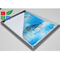 China High Brightness LED Snap Frame Light Box Low Heat Wall Mounted For Coffee Bar wholesale