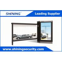 China IP54 Approved Advertising Barriers Outdoor Windproof Parking Barrier Gate wholesale