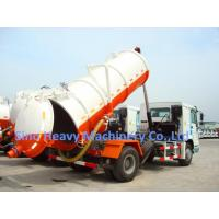 China  10M3 4X2 Sewage Suction Truck ZF8098 , 371HP Sewage Vacuum Truck  for sale