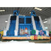 China Huge Ocean Sea World Inflatable Slides Outdoor Attraction Ocean Design EN14960 wholesale