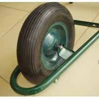 China Steel Rim Rubber Wheel (PR3006) wholesale