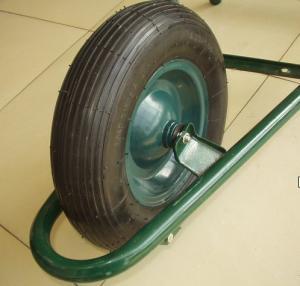 China Steel Rim Rubber Wheel (PR3006) wholesale