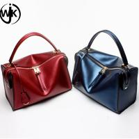 Buy cheap Spring fashion ladies shoulder bags genuine leather bag lady leather bag set from wholesalers