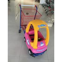 Quality Metal Kids Shopping Carts , Kids Shopping Trolley Travelator Casters CE / GS / ROSH for sale