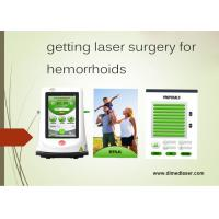 Buy cheap 15Watts 980nm Laser Treatment Of Piles Painless Hemorrhoid Removal from wholesalers