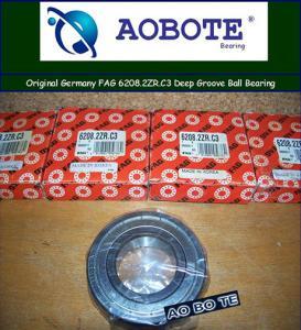 China Single Row FAG Roller Bearings 6208.2ZR.C3 , Deep Groove Ball Bearing wholesale
