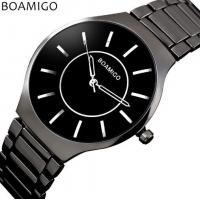 China Wholesale Fashion Ultra thin Simple Men Waterproof 30m Steel Band Quartz Wrist Watches L811 wholesale