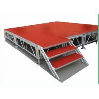 China Indoor Movable Stage Platform 1.22 X 1.22M Aluminum Height TUV wholesale