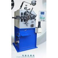 China Blue Painting Compression Spring Machine / Spring Coiling Machinery wholesale