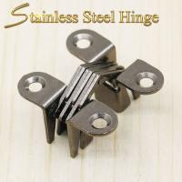 China 39*13*17.5 mm Stainless Steel Concealed Hinges / Heavy Duty Concealed Hinges wholesale
