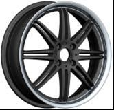 China Chromed Aluminum Alloy Wheels , Replacement Car Alloy Wheels wholesale