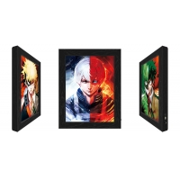 China 3D Lenticular Flip Picture Anime Advertising LED Light Box For Home Decoration wholesale