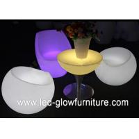 China High Capacity led illuminated furniture / tables / chairs for bar , cafes and party wholesale