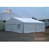 China Waterproof Outside Industrial Storage Tents Sandwich Wall , Fire Retardant Tent wholesale
