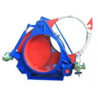 Buy cheap Explosion Proof DN600 Goggle Valve / Open Type Blind Valve Gas Isolation Valve from wholesalers