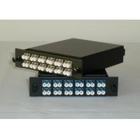 China LC 24 port Simplex / Duplex MPO data patch panel with RoHS , SGS wholesale