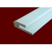 China White Wood Wall Molding Panels Waterproof For Interior Decoration wholesale