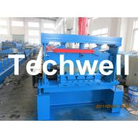 China 10 - 12Mpa Hydraulic Pressure Metal Deck Roll Forming Machine for 0.8 - 1.2 mm Thickness wholesale