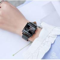 Quality GUOU Women Genuine Leather Band 3 ATM Waterproof Japanese Quartz Movement Wrist for sale