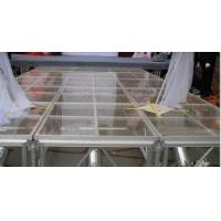 China Glass Square Acrylic Stage Platform Anti-slip For Evens wholesale