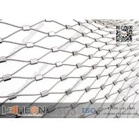 China SS316L Ferrule Stainless Steel Wire Rope Mesh | China Decorative Wire Mesh wholesale