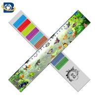 China Straight 3D Lenticular Ruler For Promotional Gift Stationery Custom Shape wholesale