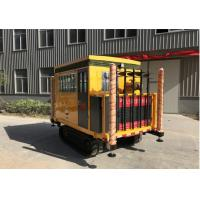Buy cheap Percussion Hammer CPT Crawler Full Hydraulic Engineering Crawler Chassis from wholesalers