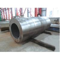 China GB ASTM Pipeline Barrel Forged Cylinder Sleeve Forging For Oil Pipe Part , carbon steel Forging wholesale